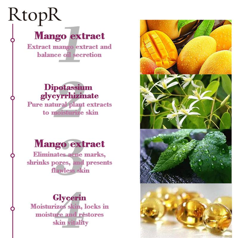 RtopR mango acne cream