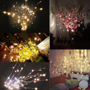 LED Christmas Willow