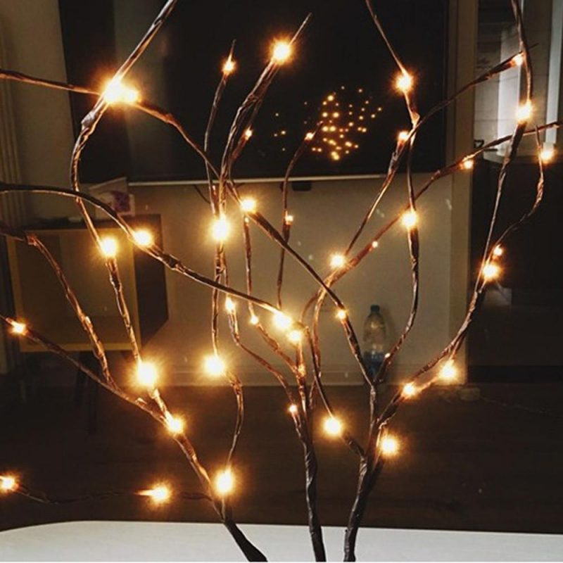 LED Christmas Willow
