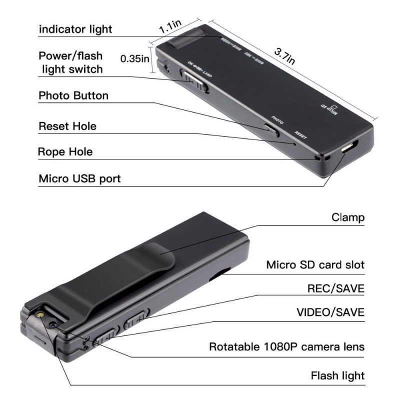 A3 metal strong magnetic digital recorder