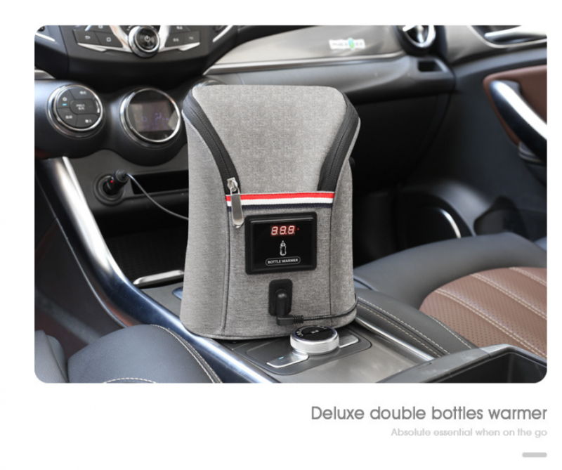 Car USB Baby Bottle Warmer Portable Travel Breast Milk Warmer