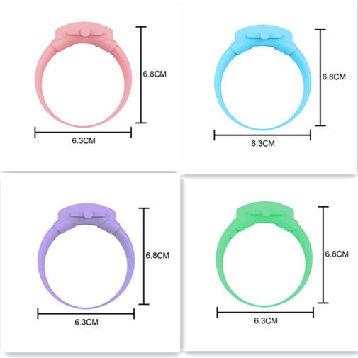 Portable Hand Sanitizer Disinfectant Bracelet Wearable Hand Wash Gel Dispenser