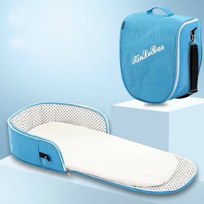 Portable Removable Folding Crib Baby Bed Mammy Bag