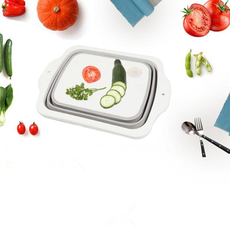 Plastic Multifunctional Folding Cutting Board